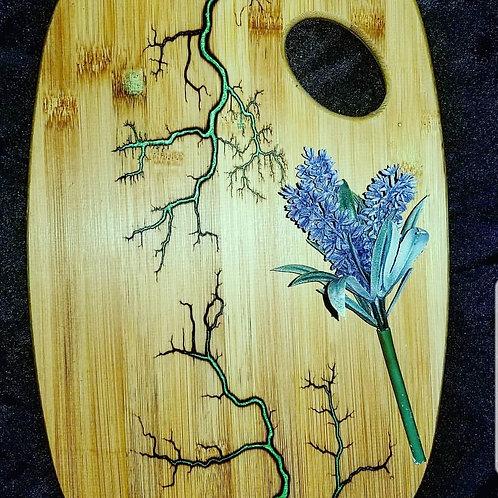 Lichtenberg bamboo Cutting Board
