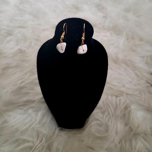 Zebra Gemstone Earrings