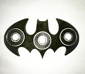 batman, dc comics, fidget, spinners, toys, kids, custom art, bearrings, skaters, buy black, black owned, art, homemade, 3d printing, prusa