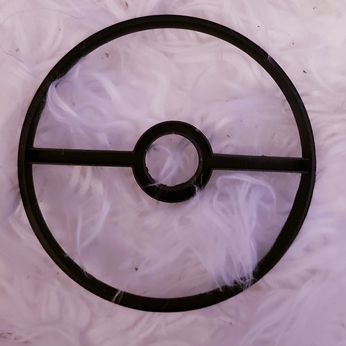Large Pokeball Cookie Cutter