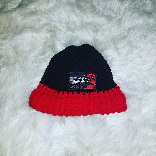 Deadpool Beanie Knit Hat