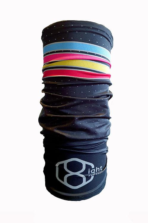 6ix headband als het fris is, als je haar samen moet, onder je helm....