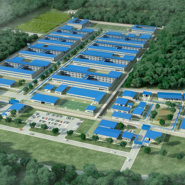 NUEVO COMPLEJO PENITENCIARIO DE COLÓN  Situación: Panamá. Superficie: 138.560 m² Colaboración.