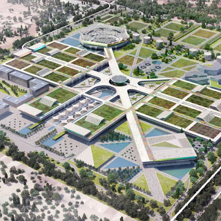 DWARKA MASTERPLAN  Situación: New Delhi, India. Superficie: 10.200.000 m² Colaboración.