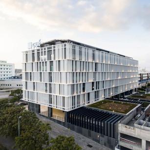 HOSPITAL CUF DESCOBERTAS  Situación: Lisboa, Portugal. Superficie: 25.772 m² Colaboración.