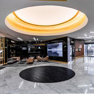 REMODELACIÓN INTEGRAL DEL CINE PALAFOX.  Situación: Madrid, España. Superficie: 15.000 m² Colaboración.