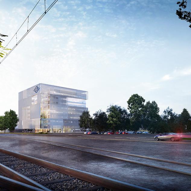 EDIFICIO DE OFICINAS PARA METRO MADRID.  Situación: Madrid, España. Superficie: 40.000 m² Colaboración.