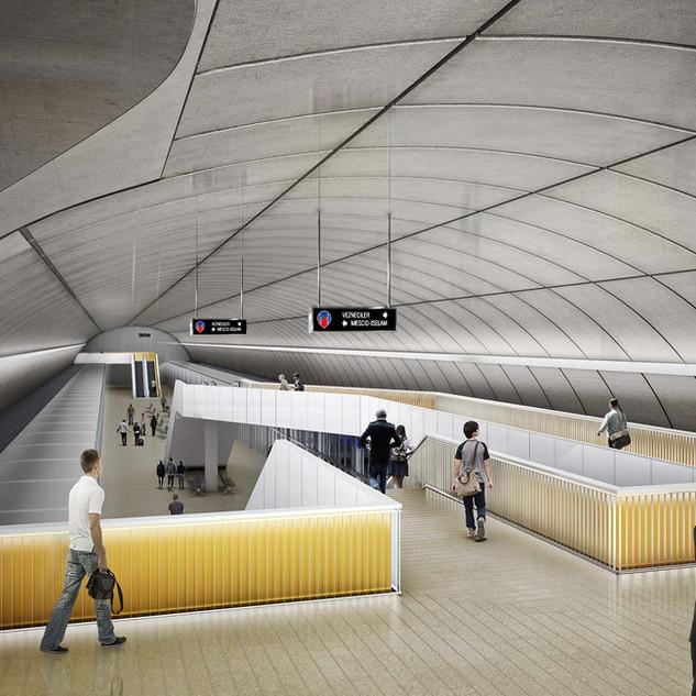 LÍNEA VEZNECILER–SULTANGAZI METRO DE ESTAMBUL  Situación: Turquía.   Superficie: 3.400.000 m² Colaboración.