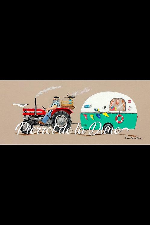 tracteur remorque