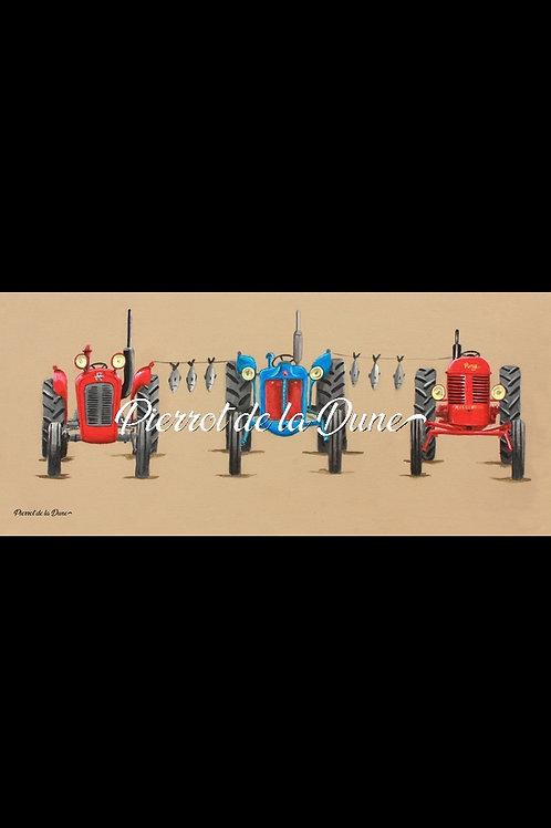 3 tracteurs