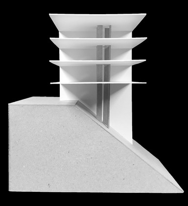 Model Analysis of Hill House by Johnston Marklee Architects