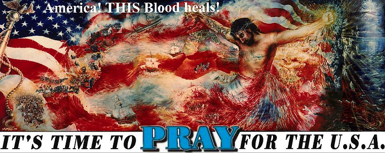 This Blood Heals Time To PRAY USA www th