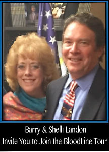 Shelli and Barry invite you blood line t