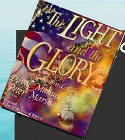 Light and Glory book upper right corner