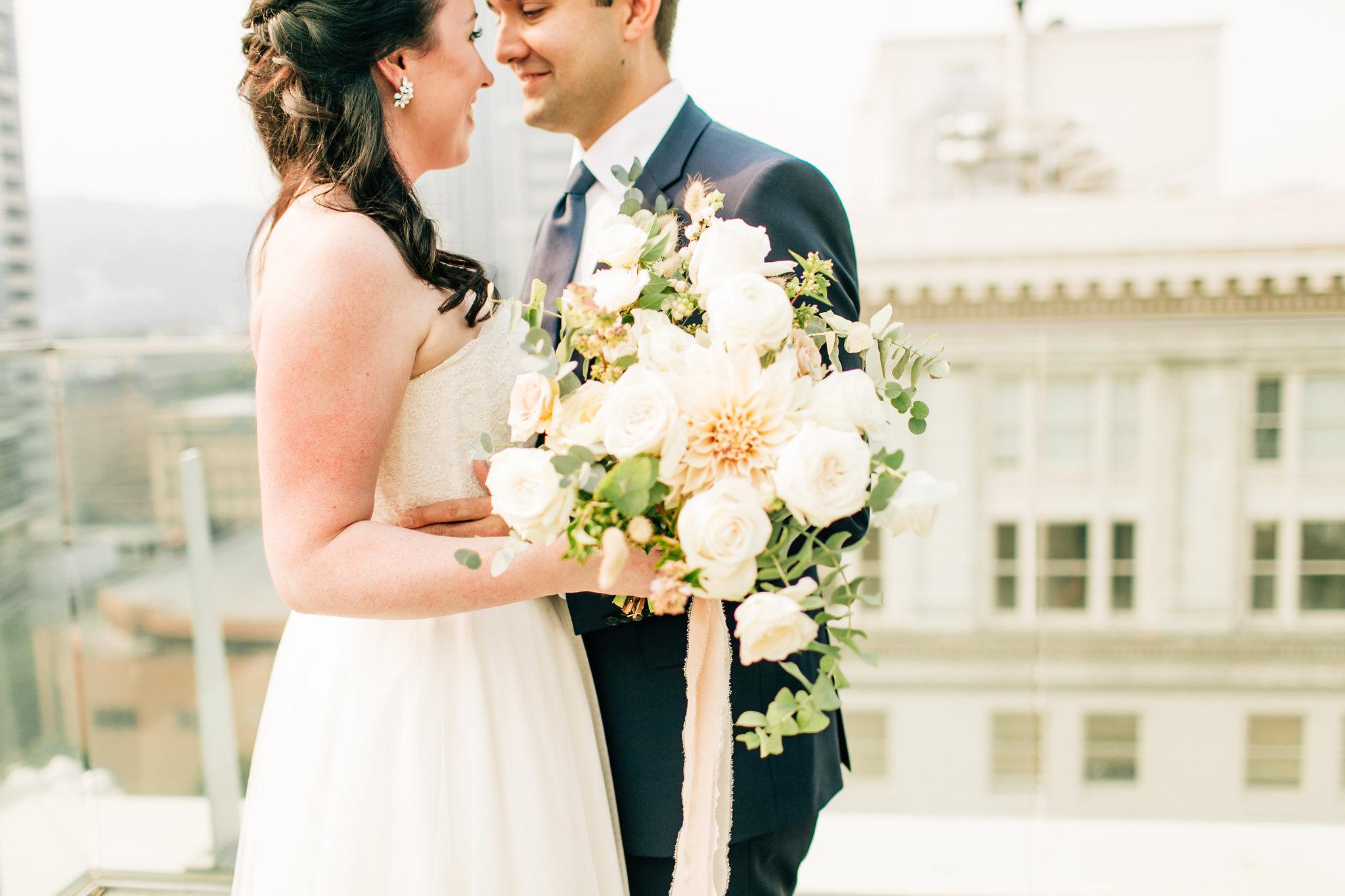 Bridal Bouquet Seventh Stem