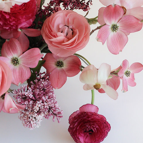 Wrapped Garden Bouquet