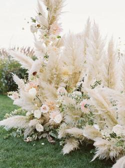 Wedding Ceremony Installation Grass