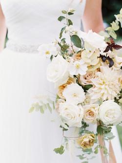 Bridal Bouquet Fall Flowers Wedding