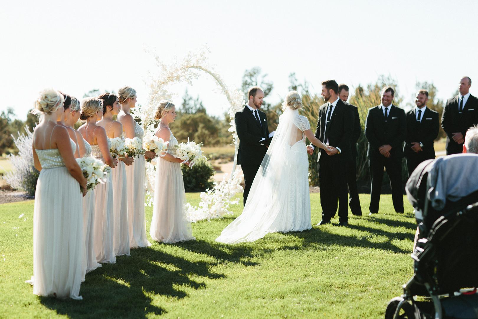 High Desert Wedding