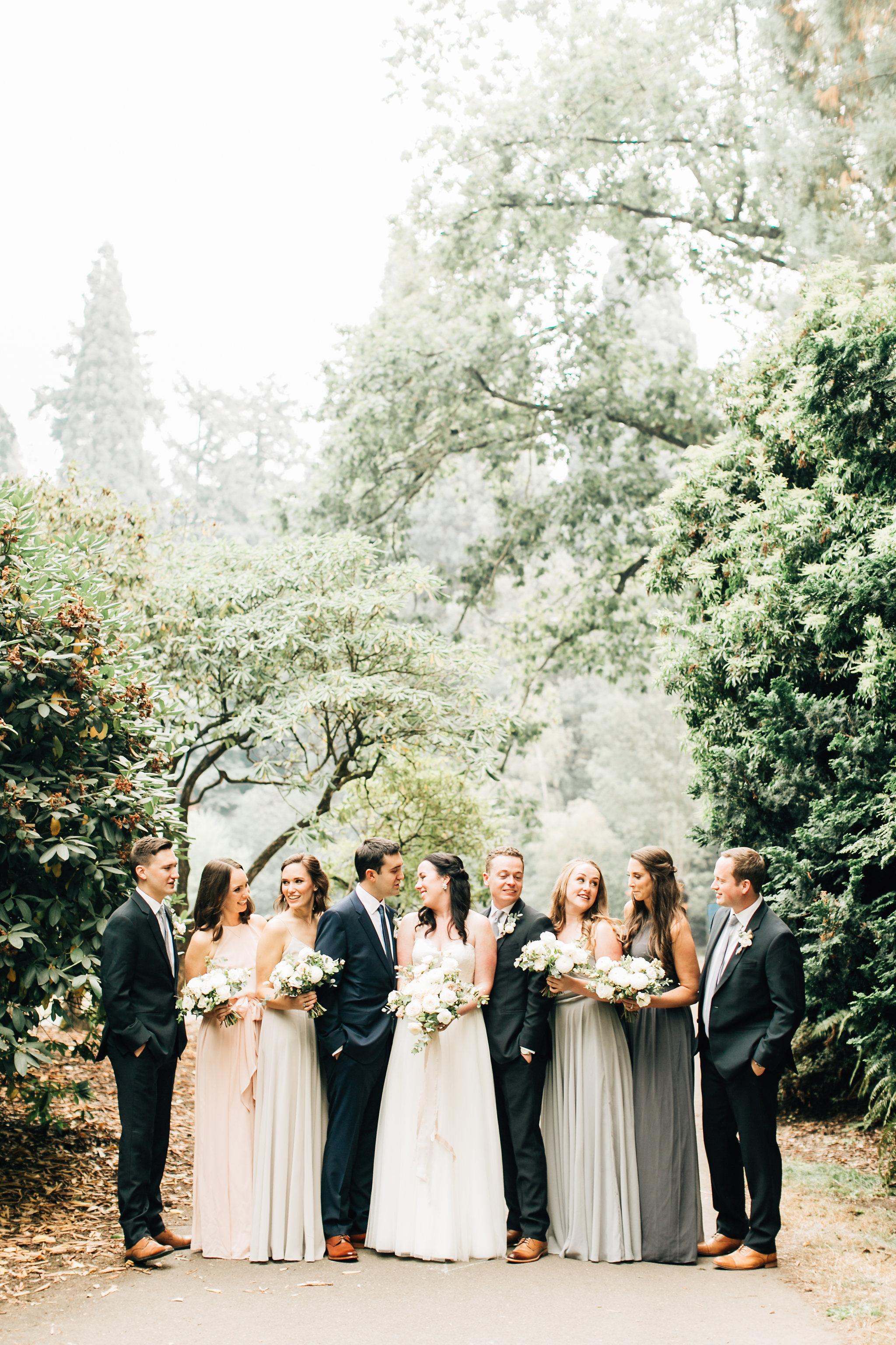 Bridal Party Bridesmaids Seventh Ste