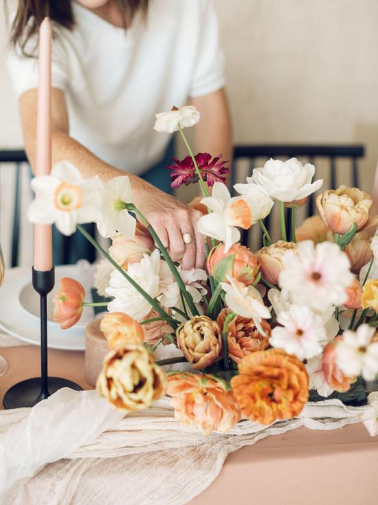 Oregon Spring wedding flowers