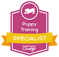 Puppy_Training specialist badge.png