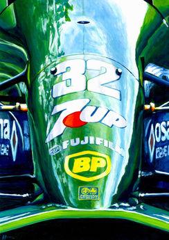 Schumacher Jordan 191 A4 Alex Stutchbury
