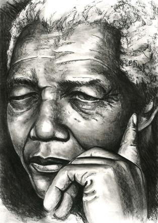 Nelson Mandela by Alex Stutchbury