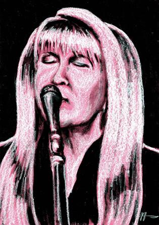 Stevie Nicks by Alex Stutchbury