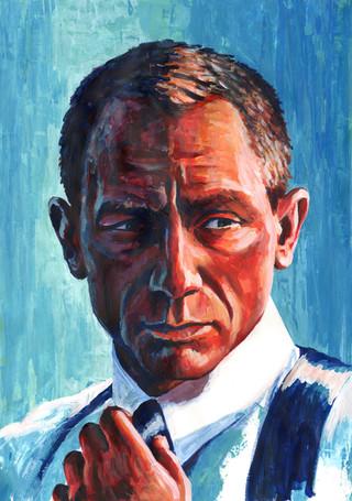 Daniel Craig by Alex Stutchbury