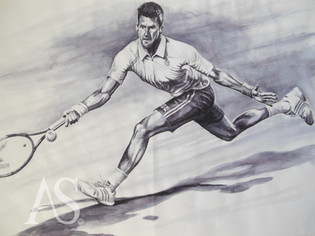 'The Half-Volley' by Alex Stutchbury