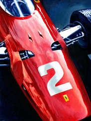 John Surtees | 1964 F1 World Champion by Alex Stutchbury