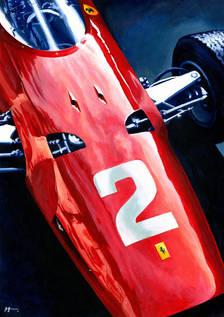 Ferrari 158F1 by Alex Stutchbury