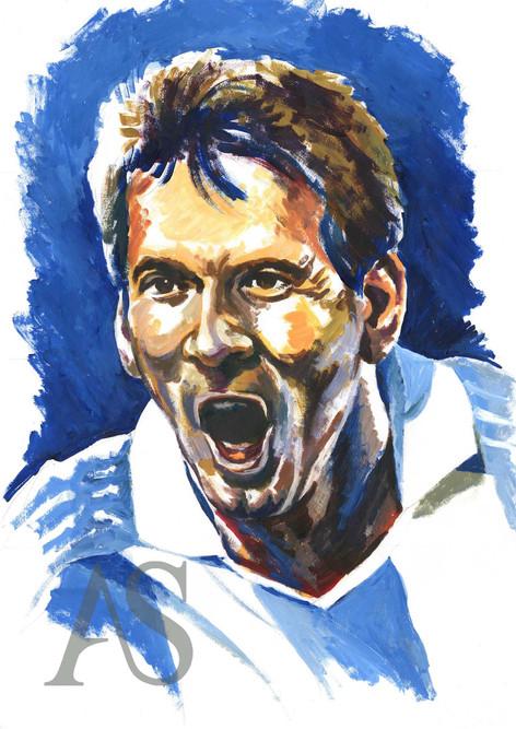 Lionel Messi by Alex Stutchbury