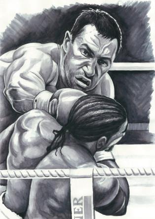 Klitschko vs. Haye by Alex Stutchbury