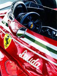 Niki Lauda | 1977 F1 World Champion by Alex Stutchbury