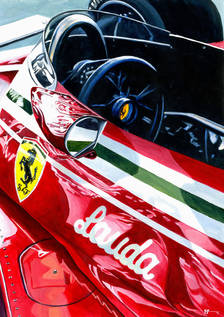 Ferrari 312T by Alex Stutchbury
