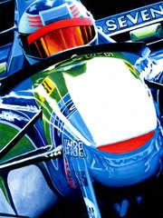 Michael Schumacher | 1994 F1 World Champion by Alex Stutchbury