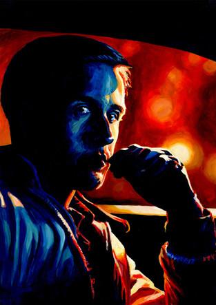 Ryan Gosling by Alex Stutchbury