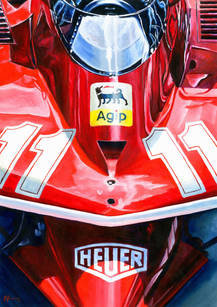 Ferrari 312T4 by Alex Stutchbury
