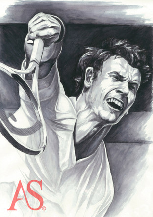 Andy Murray by Alex Stutchbury