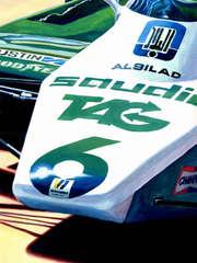 Keke Rosberg | 1982 F1 World Champion by Alex Stutchbury