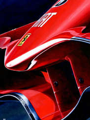 Kimi Raikkonen | 2007 F1 World Champion by Alex Stutchbury