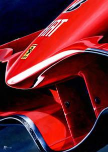 Ferrari F2008 by Alex Stutchbury