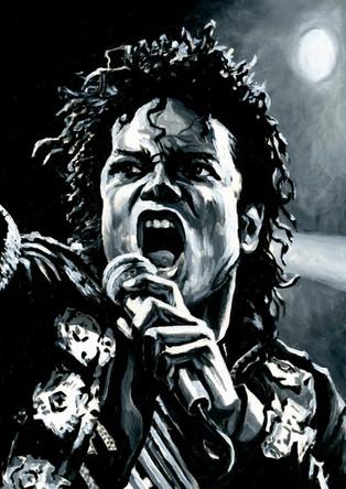 Michael Jackson by Alex Stutchbury