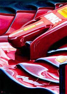 Ferrari SF1000GP by Alex Stutchbury