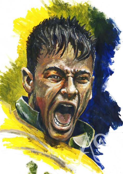 Neymar Jr by Alex Stutchbury