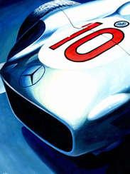 Juan Manuel Fangio | 1955 F1 World Champion by Alex Stutchbury