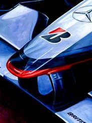 Mika Hakkinen | 1998 F1 World Champion by Alex Stutchbury