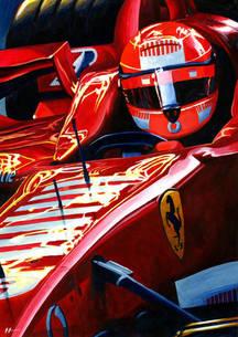 Ferrari 248F1 by Alex Stutchbury